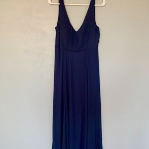 JENN Maxi Dress - Rich Crisp Navy